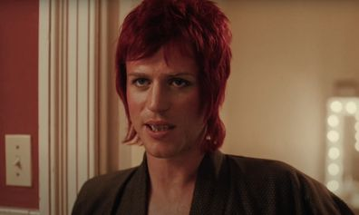 Johnny Flynn as David Bowie in the Stardust biopic