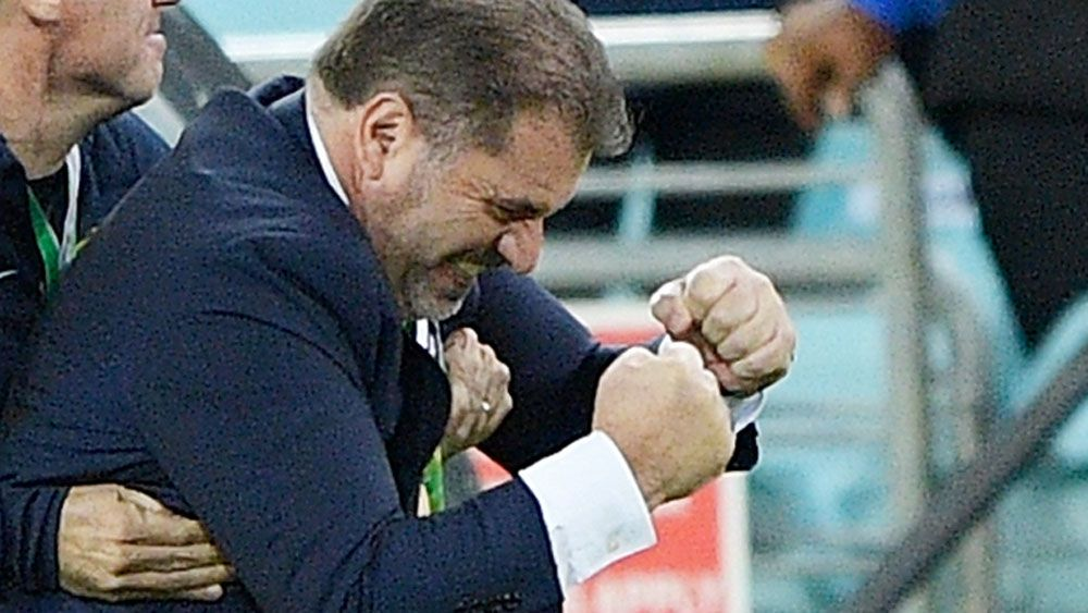 Socceroos coach Ange Postecoglou to consider future after 2018 World Cup qualification