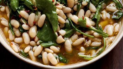 White beans and chilli