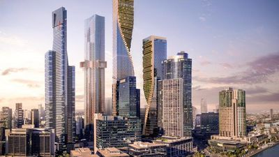 Australia's new tallest building will showcase vertical gardens and botanical rooftop