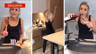 Exclusive: Samantha cooks dinner for Cameron