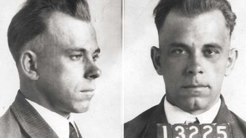 John Dillinger was a notorious bank robber during the height of the Great Depression.