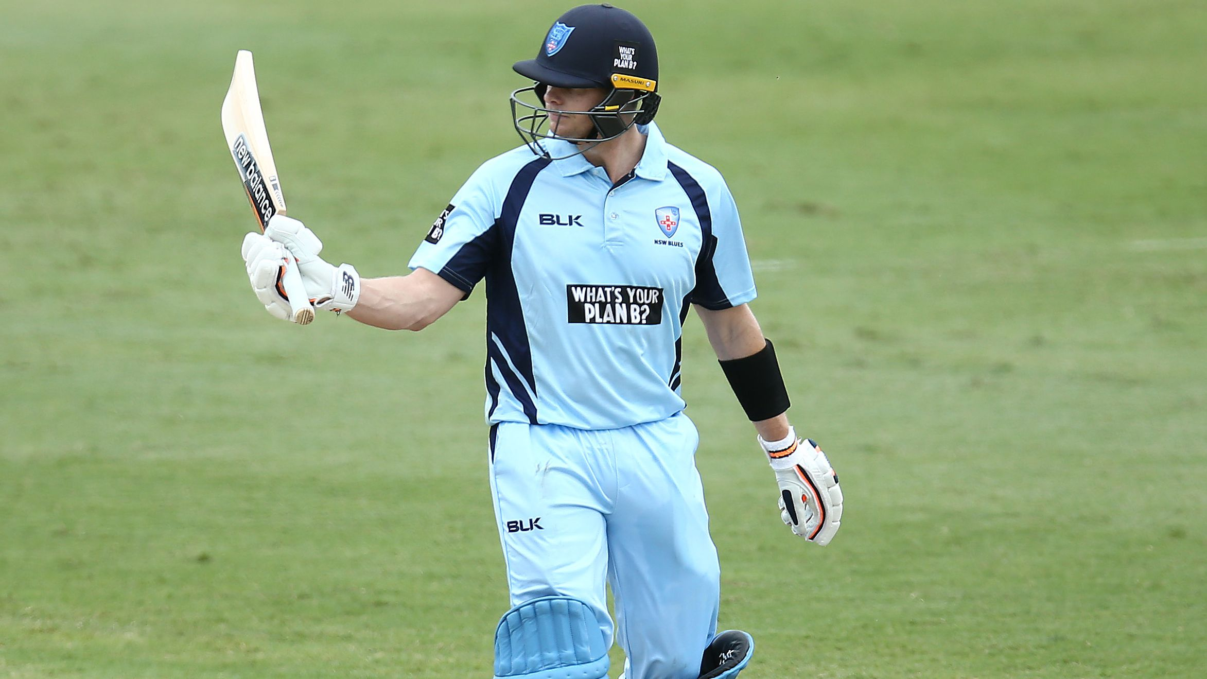 Steve Smith posts century for NSW in Marsh Cup opener against Victoria
