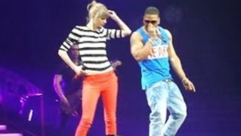 Watch: Taylor Swift's surprise performance with Nelly
