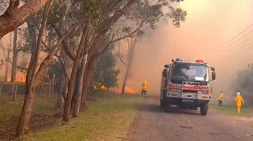 A total fire ban is in place across the northern regions of NSW today.