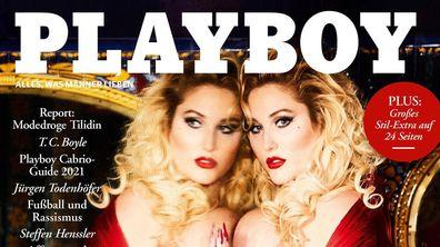 Hayley Hasselhoff made her Playboy debut.