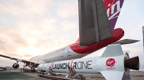 British business magnate Richard Branson's Virgin Orbit plans to launch small satellites into Earth's orbit.