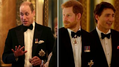 GALLERY: Royals tux up to greet Commonwealth heads