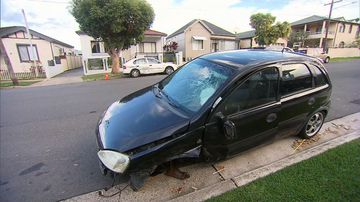 A man has been charged with drink driving after two parked cars were struck.