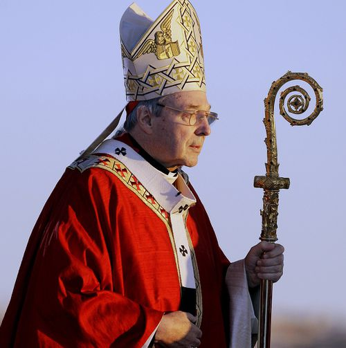 Cardinal George Pell is the third highest ranking member of the Catholic Church. (AAP)