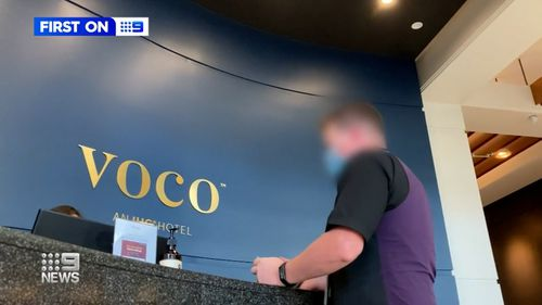 Voco Hotel in Surfers Paradise is not a formal quarantine hotel but has accommodated air crews who have later been deemed to be close contacts of COVID cases.