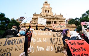 Sydney's Black Lives Matter protest deemed legal by NSW Court of Appeal