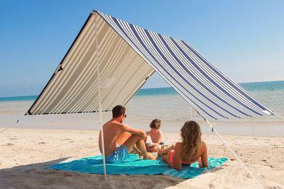 <strong>Sombrilla Beach Shade, $169.00</strong>