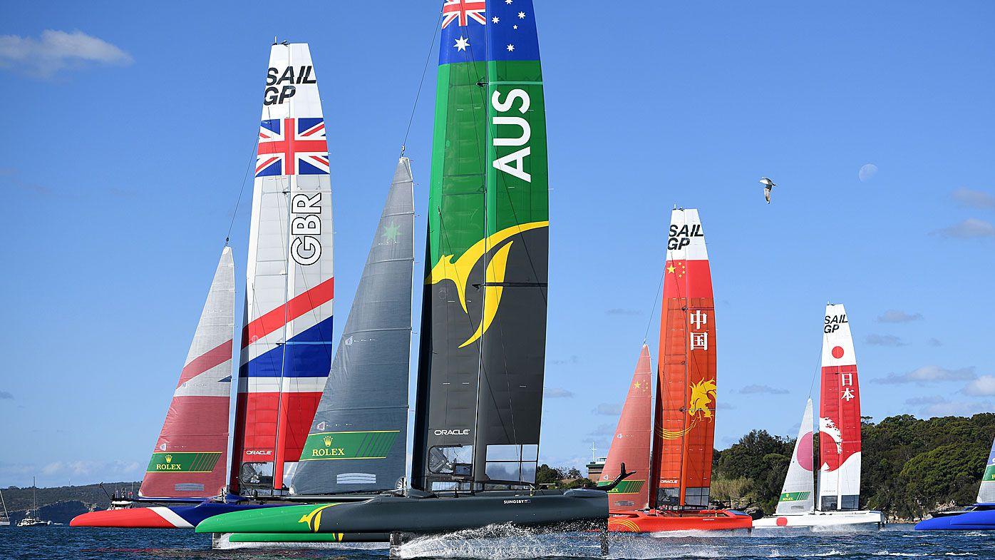 Japan and Australia lead inaugural Sail GP on Sydney Harbour