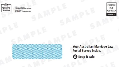 The Reply Paid envelope.