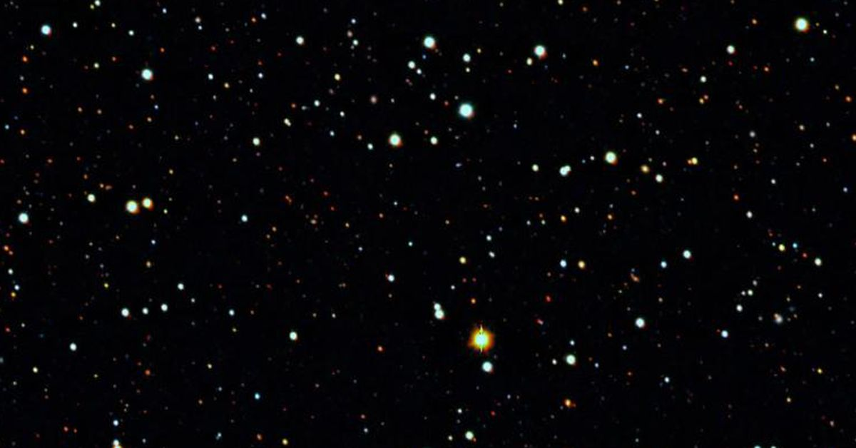 Dark matter halo found around ancient 'cannibal' galaxy – 9News