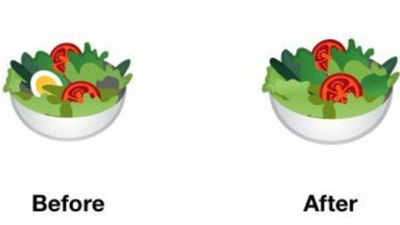 Google's salad emoji becomes vegan friendly