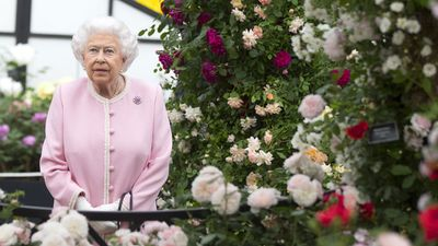 Queen Elizabeth visits the Chelsea Flower show, May 2018