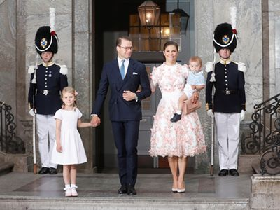 Princess Victoria celebrates 40th birthday with family