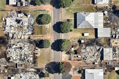 Fire and Emergency Services Commissioner Wayne Gregson said he did not fear the inquiry because firefighters did their best. (Nearmap)