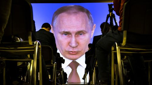Mr Putin hasn't moved an inch closer toward throwing off the Western sanctions that have emaciated Russia's economy.