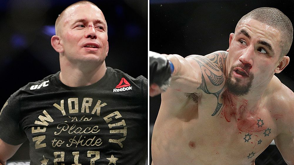 UFC: Georges St-Pierre confirms next fight is with Aussie Rob Whittaker