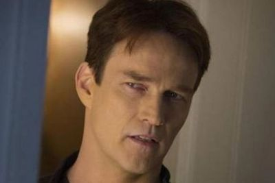Vampire Bill! Stephen Moyer as Bill Compton in the final season. <br/>