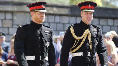 William serves as Harry's best man, 2018