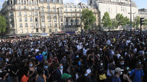 Racial injustice protests, Paris