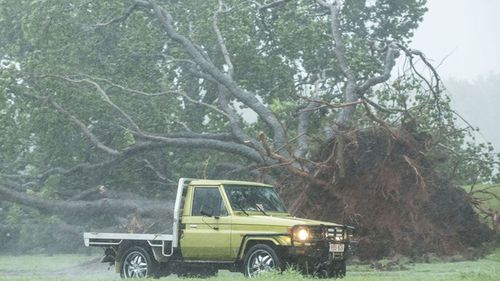 Cyclone Marcus hit Darwin last weekend