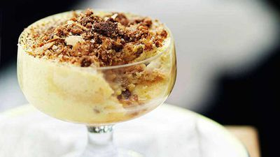 """Click through for our <a href=""""http://kitchen.nine.com.au/2016/05/16/11/52/guy-grossi-supa-piazentina-venetian-trifle"""" target=""""_top"""">Guy Grossi: Supa piazentina (Venetian trifle)</a> recipe"""