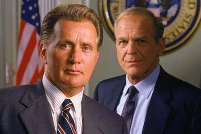 """Encouraging your mates to succeed is a big part of sustaining a healthy bromance. Well, encouragement and success don't get much bigger than this. Leo pursuaded Jed to run for office, writing, """"Bartlet for America"""" on a napkin. Jed ran for office and became President of the United States of America."""