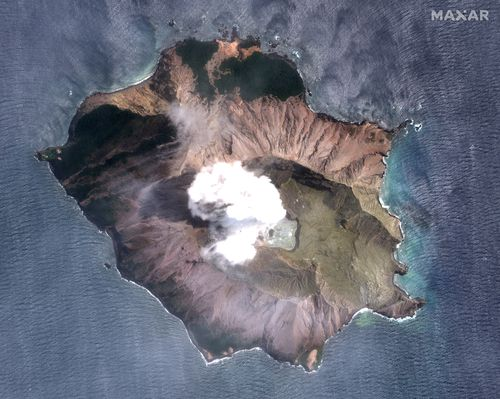 Increased volcanic activity is hampering efforts to retrieve the bodies.