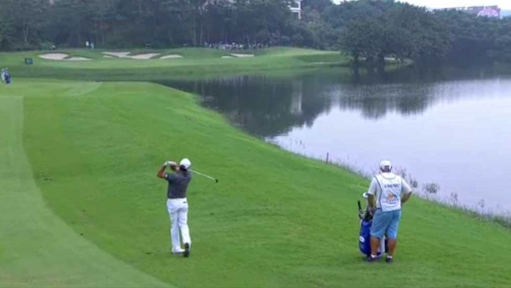Hend leads Shenzhen golf after albatross