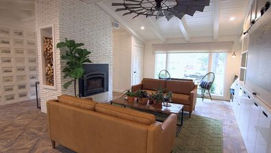 One of a kind Trista Mark renovation Living After