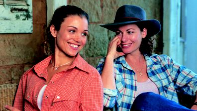 Bridie Carter (Tess Silverman-McLeod) and Lisa Chappell (Claire McLeod).
