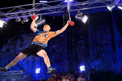 Luke Ha taking on the Ball of Chains.