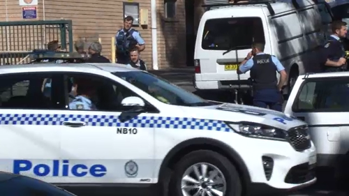 A large police operation saw Manly Vale and North Manly in lockdown as officers hunted two break-and-enter suspects. One was arrested on Riverview Parade, North Manly.