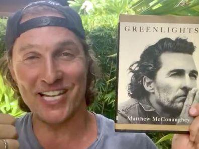 Matthew McConaughey, book, Greenlights