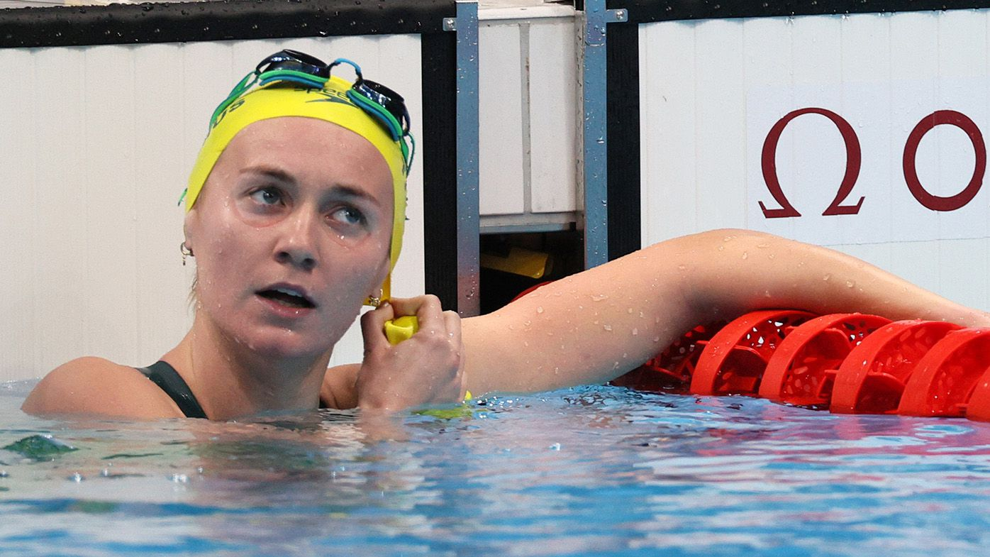 Aussie golden girl Ariarne Titmus smashes 200m freestyle semi-final heat, second Katie Ledecky duel awaits