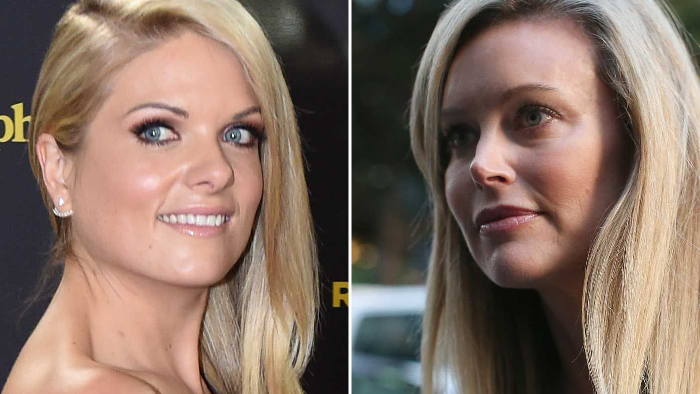 Erin Molan and Kelly Landry. (AAP)