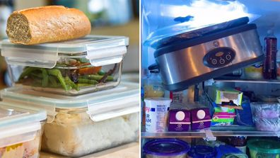 Woman encouraged to 'throw away her husband' over food storage fiasco