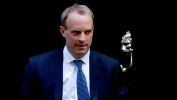 UK Foreign Secretary Dominic Raab (file photo).