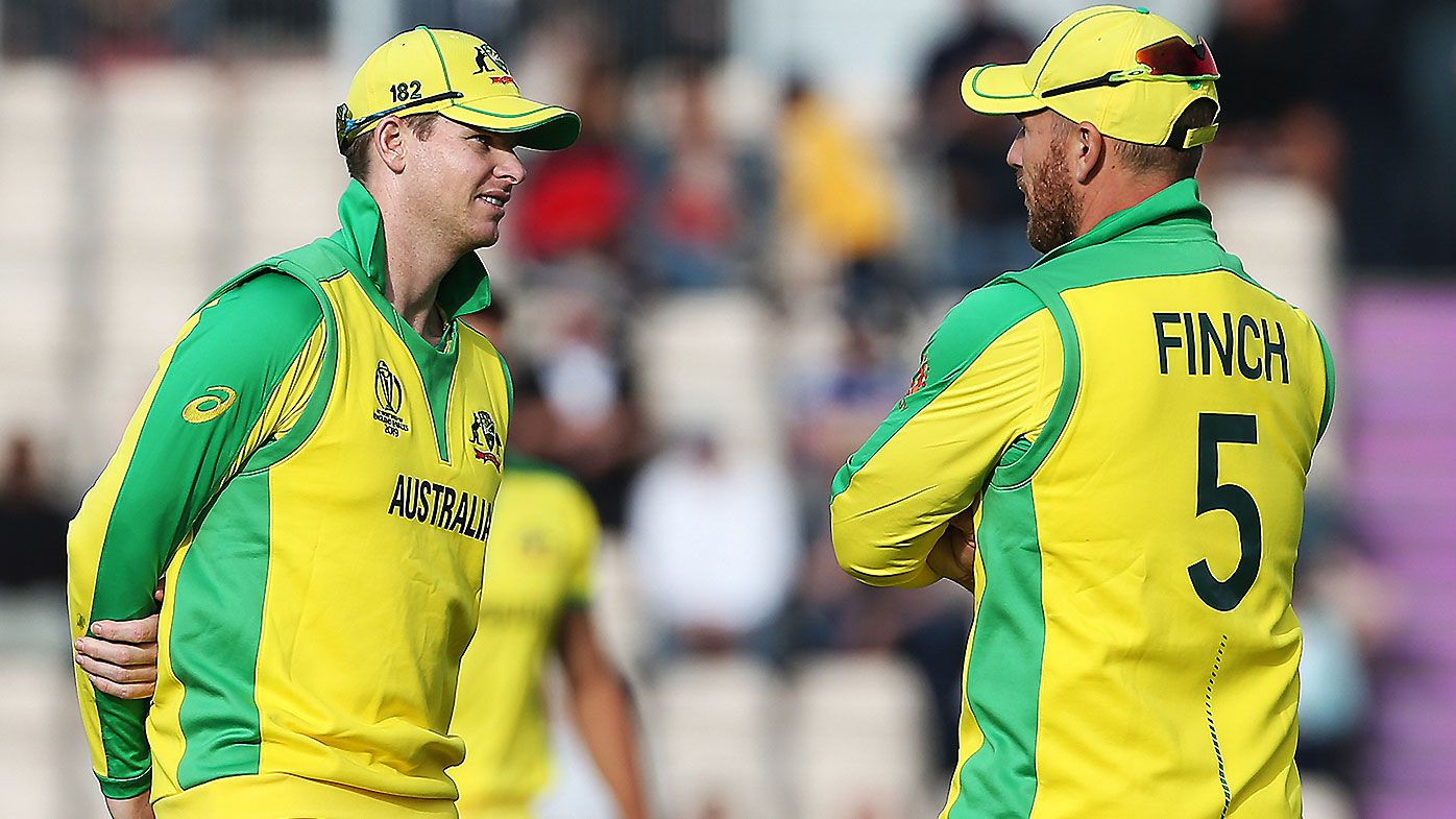 Steve Smith Aaron Finch