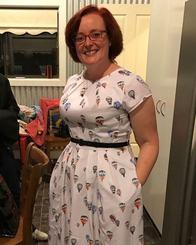Lauren Allen, in March 2017