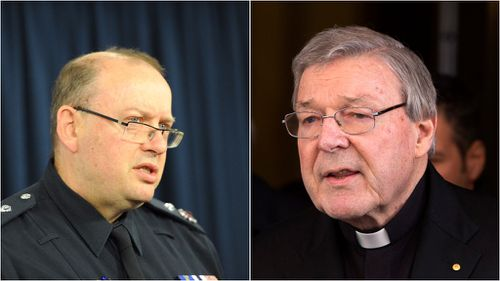 Victoria's top cop denies claims police leaked Cardinal Pell allegations