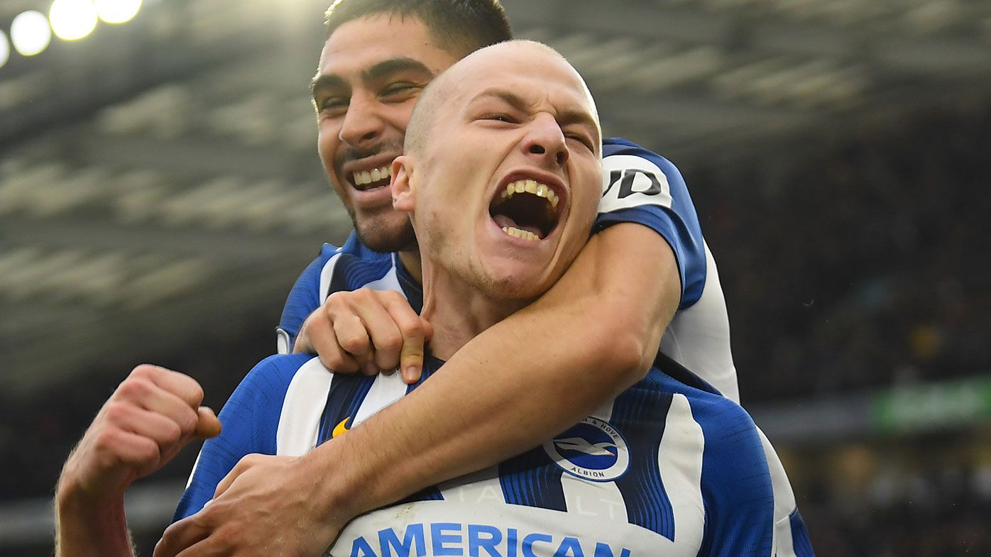 Socceroo Aaron Mooy signs with Brighton after loan from Huddersfield