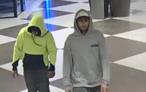 Detectives believe the same man is responsible for an armed robbery at the same arvo only two-months earlier.