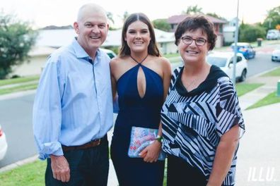 Sophie Brisbane Lions mother breast cancer and father