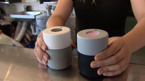Keep-cups come in a varity of sizes and styles to suit any drinker. Picture: 9NEWS